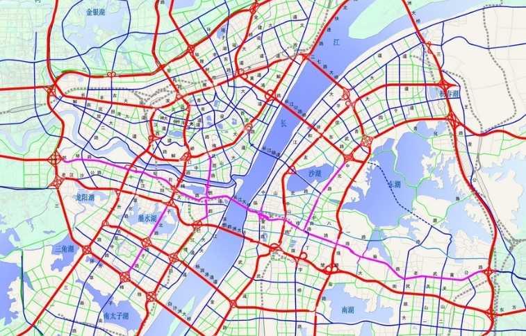 道路图层矢量化/ 矢量道路/矢量水系