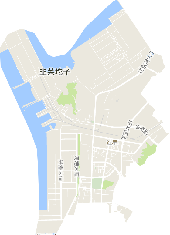 海星街道电子地图高清版大图