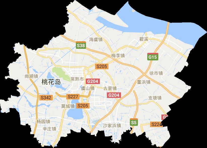常熟市高清卫星地图,常熟市高清谷歌卫星地图