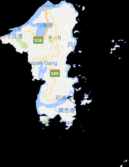 象山县电子地图高清版大图