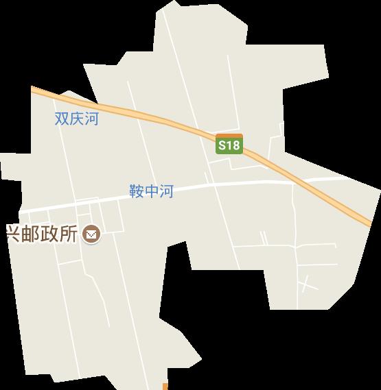 简约街道地图素材
