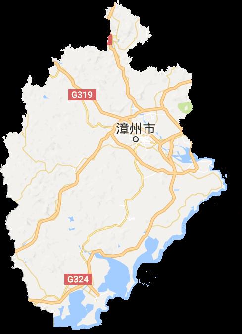 漳州市电子地图高清版大图