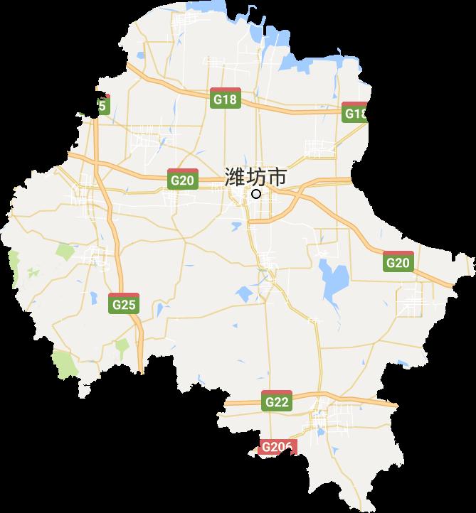 潍坊市高清卫星地图,潍坊市高清谷歌卫星地图