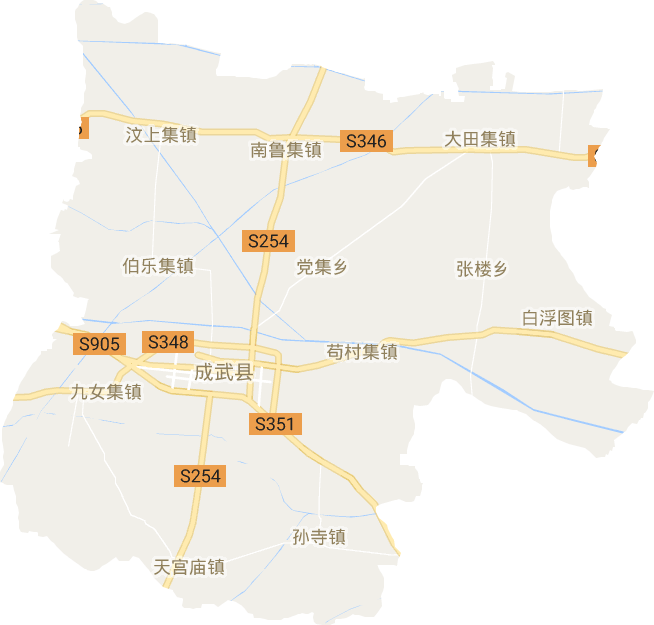 成武县高清卫星地图,成武县高清谷歌卫星地图