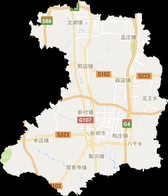 新郑市高清卫星地图,新郑市高清谷歌卫星地图