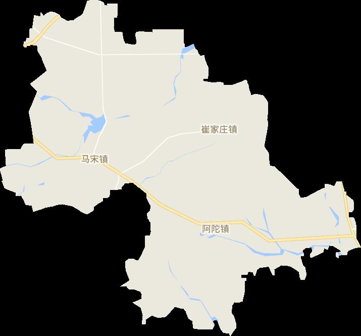 山东省潍坊市昌乐县营丘镇电子地图高清版大图