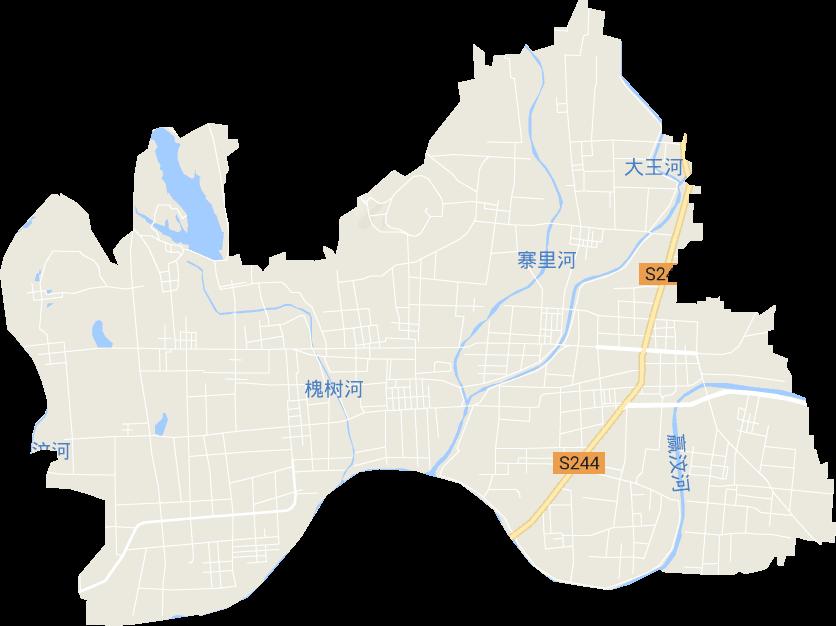 山东省莱芜市莱城区寨里镇电子地图高清版大图