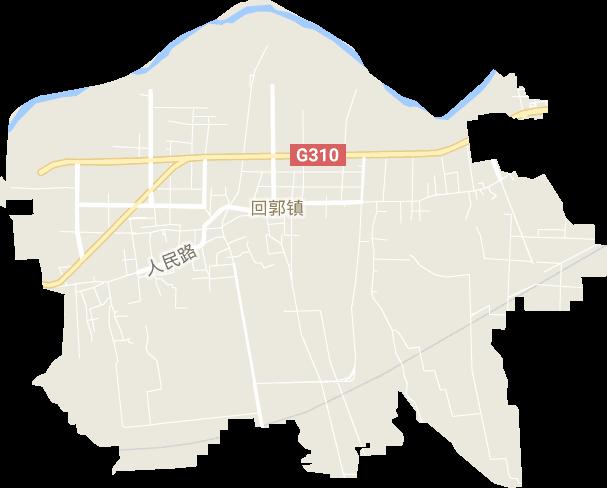 河南省郑州市巩义市回郭镇电子地图
