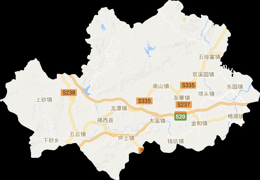 揭西县电子地图高清版大图