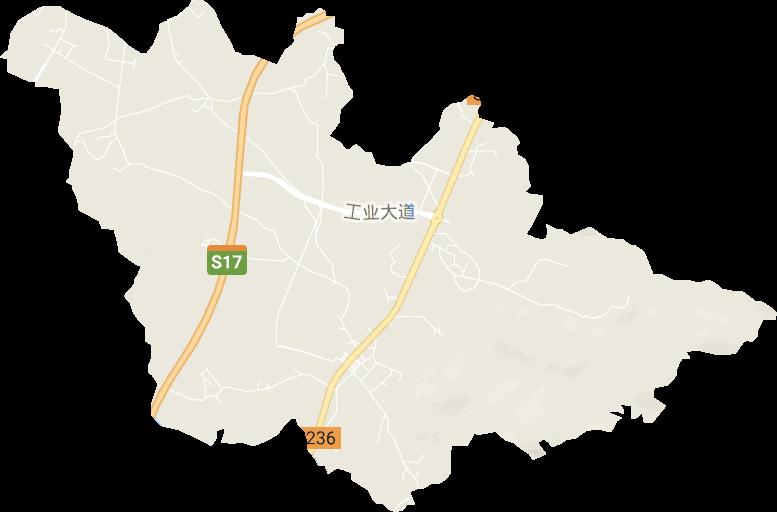 广东省揭阳市普宁市大坝镇电子地图高清版大图