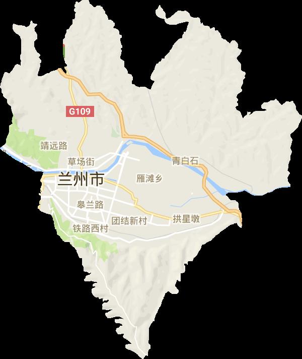 城关区电子地图高清版大图图片