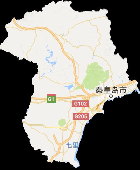 秦皇岛市高清卫星地图,秦皇岛市高清谷歌卫星地图