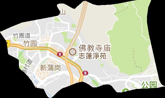 香港黄大仙区地图_香港特别行政区高清电子地图,香港特别行政区高清谷歌电子地图