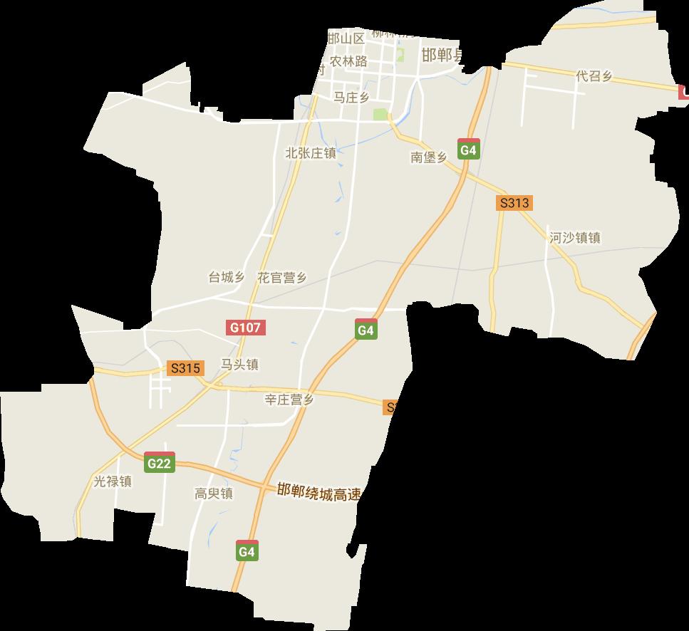 河北省 邯郸市卫星地图_我爱地图