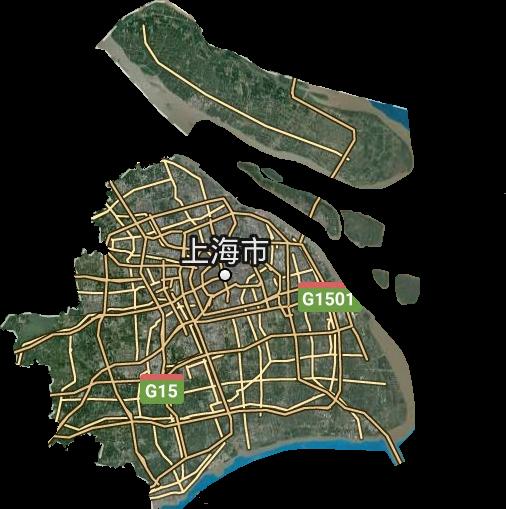 上海市高清卫星地图,上海市高清谷歌卫星地图
