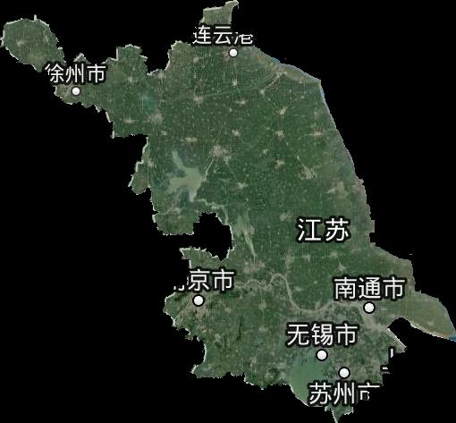 江苏省高清卫星地图,江苏省高清谷歌卫星地图
