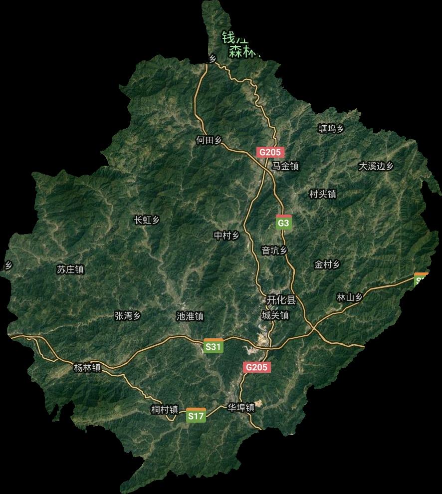 甘肃省行政地图_衢州市高清卫星地图,衢州市高清谷歌卫星地图