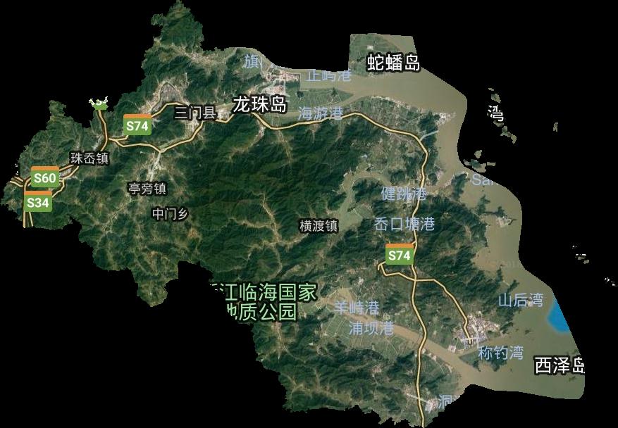 甘肃省行政地图_台州市高清卫星地图,台州市高清谷歌卫星地图