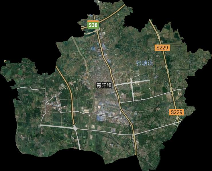 江苏江阴市华士镇_华士镇高清卫星地图,华士镇高清谷歌卫星地图