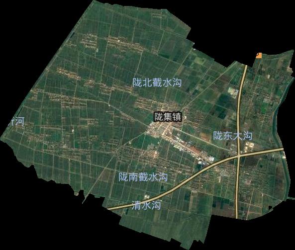 陇集墩前小区规划图