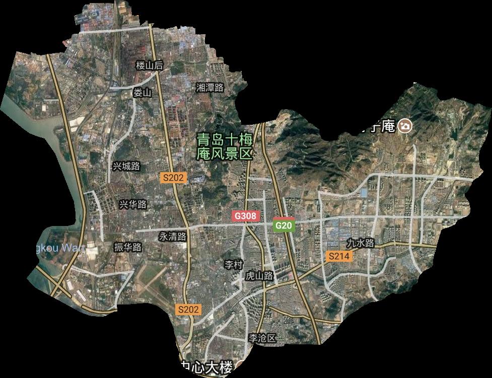 新疆qq群_青岛市高清卫星地图,青岛市高清谷歌卫星地图