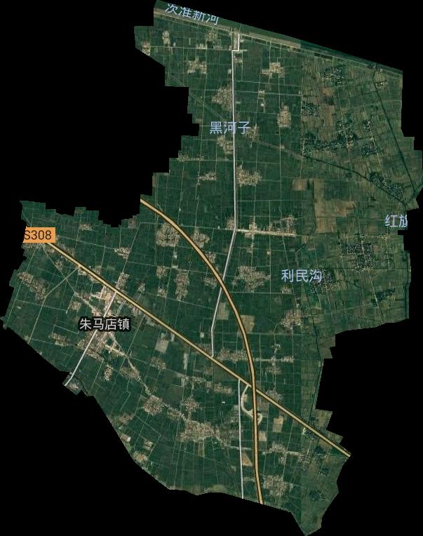 凤台县城关镇_凤台县高清卫星地图,凤台县高清谷歌卫星地图