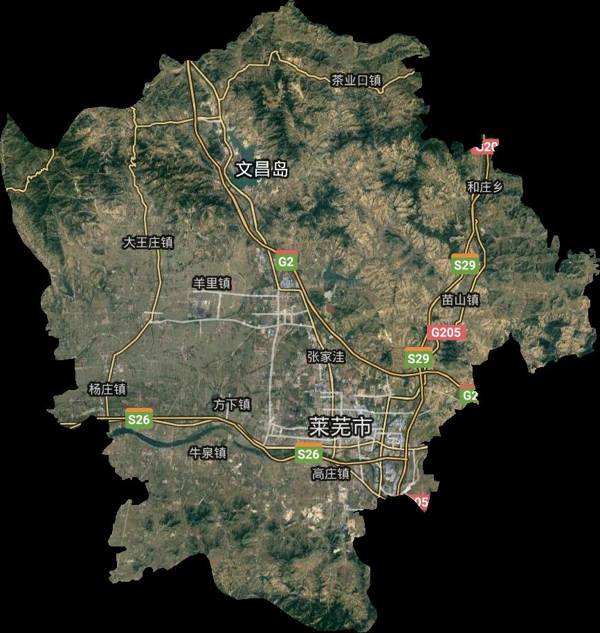 莱城区高清卫星地图,莱城区高清谷歌卫星地图