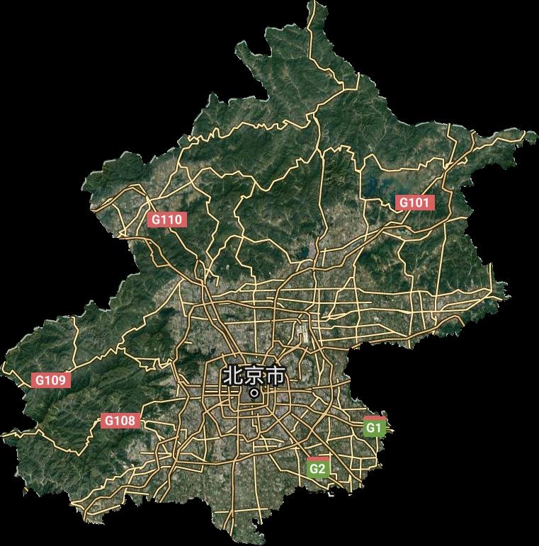 北京市谷歌卫星地图高清版