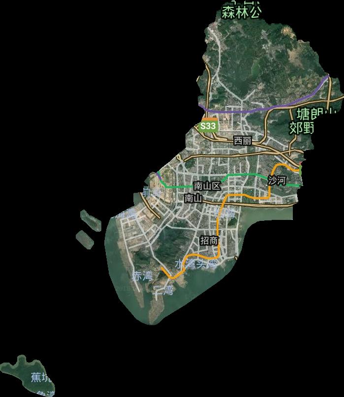 南山区行政区域简介图片