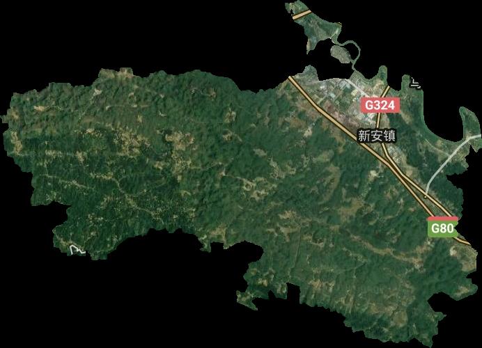 新安镇高清卫星地图,新安镇高清谷歌卫星地图
