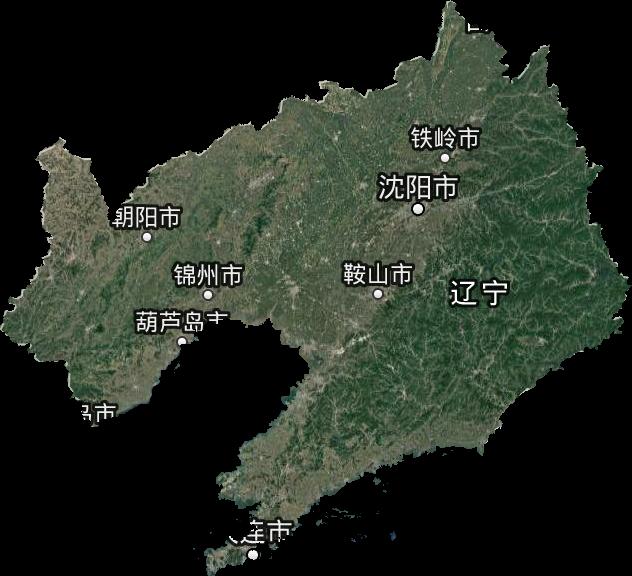 辽宁省谷歌卫星地图高清版