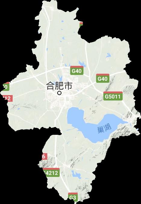 合肥市高清卫星地图,合肥市高清谷歌卫星地图