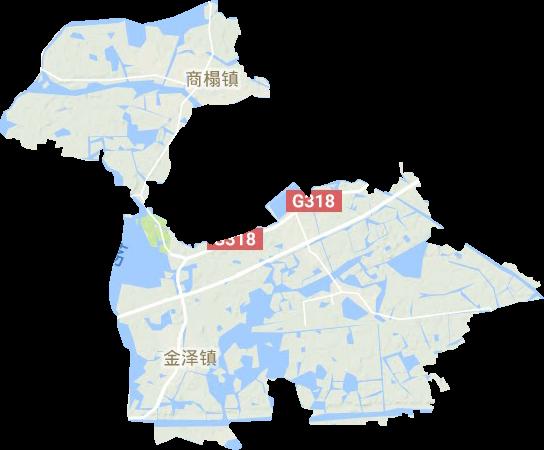 金泽镇高清地形地图,金泽镇高清谷歌地形地图