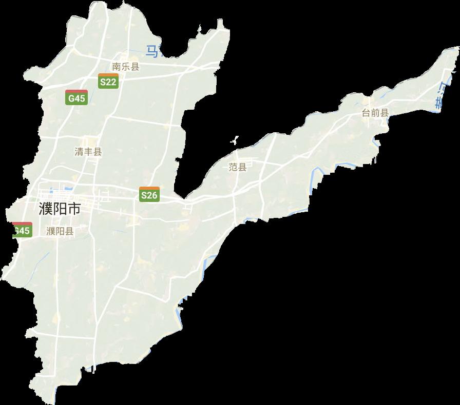 濮阳市高清卫星地图,濮阳市高清谷歌卫星地图