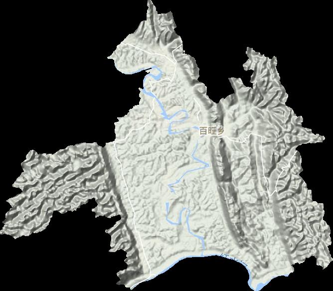 百旺镇系原都安瑶族自治县百旺乡,位于县境