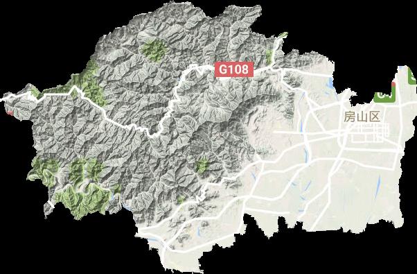 房山区良乡镇总体规划_房山区高清地形地图,房山区高清谷歌地形地图