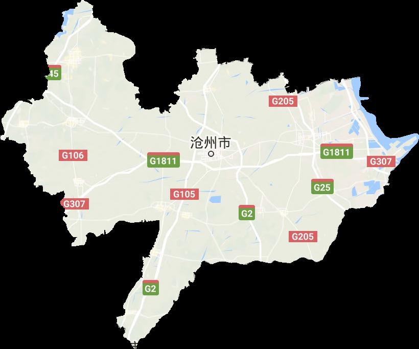 沧州市高清卫星地图,沧州市高清谷歌卫星地图