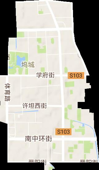太原市小店区地图_营盘街道高清地形地图,营盘街道高清谷歌地形地图